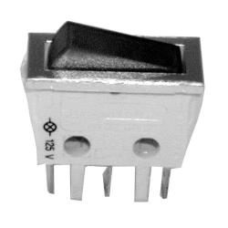Cecilware - L217A - SPST On/Off 3 Tab Lighted Rocker Switch image