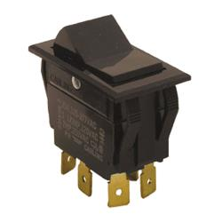 Commercial - DPDT On/On 6 Tab Rocker Switch image