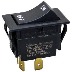Commercial - On/Off 3 Tab Rocker Switch image