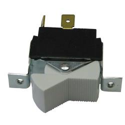 Commercial - On/Off White Serrated Rocker Switch image