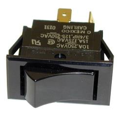 Commercial - SPST Momentary On/Off Rocker Switch image