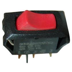 Commercial - SPST On/Off 3 Tab Lighted Rocker Switch image