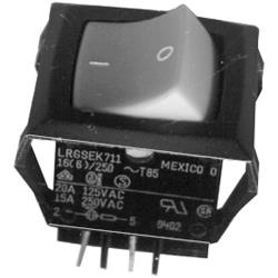 Cretors - 5130 - On/Off Rocker Switch w/ Amber Light image