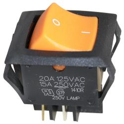 Duke - 156527 - DPST On/Off Lighted Rocker Switch image