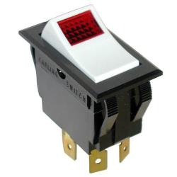 Groen - 077984 - On/Off 4 Tab Lighted Rocker Switch image