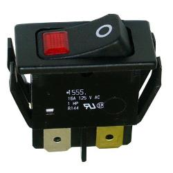 Hatco - 02.19.080 - DPST Lighted Rocker Switch image