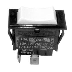Jackson - 5930-301-50-00 - DPDT On/Off/Momentary On Rocker Switch image