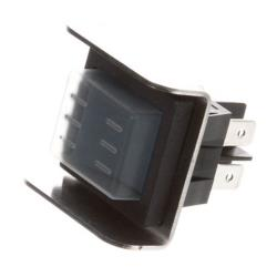 Lockwood   - H-SW-ON/OFF - Black On/Off Rocker Switch image