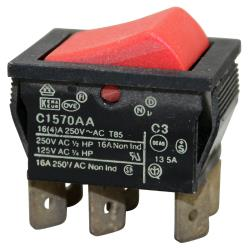 Manitowoc - 2301343 - On/Off/On Rocker Switch image