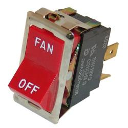 Montague - 23128-2 - Fan/Off 4 Tab Rocker Switch image