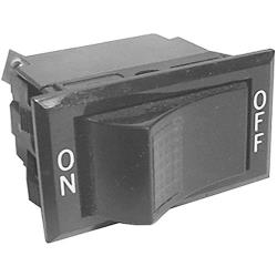 Roundup - 4010104 - On/Off 3 Tab Lighted Rocker Switch image