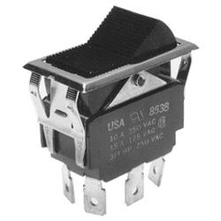 Southbend - 1011815 - On/Off/On 6 Tab Rocker Switch image