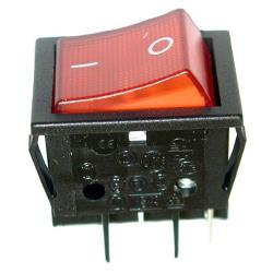 Star - 2E-Z1858 - On/Off 4 Tab Lighted Rocker Switch image