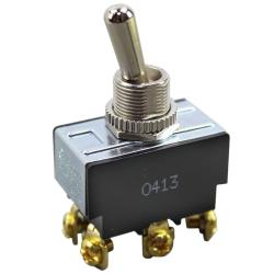 Commercial - DPDT On/Off 6 Tab Toggle Switch image