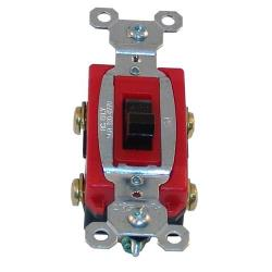 Commercial - DPST On/Off 120-277 V 4 Tab Toggle Switch image