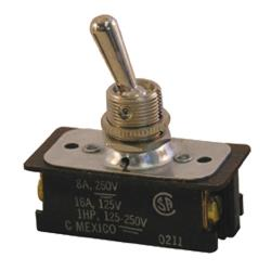 Commercial - DPST On/Off 16 Amp 4 Screw Toggle Switch image
