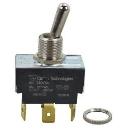 Original Parts - 421665 - Soft/Crisp On/Off 6 Tab Toggle Switch image