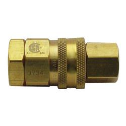 "T&S Brass - AG-5D - 3/4"" Gas Quick Disconnect image"