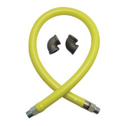 T&S Brass - HG-2D-48 - Safe-T-Link 3/4 in x 48 in Gas Hose image