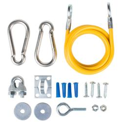 T&S Brass - AG-RC - Safe-T-Link 5 ft Restraining Cable Kit image