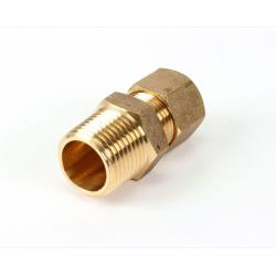 American Range - A28032 - 3/8Cx3/8 Mip Brass Fitting image