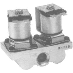 "Commercial - 3/8"" 120V Natural/LP Gas Dual Solenoid Valve image"