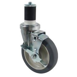 CHG - CMS4-5RBB - 1 5/8 in Expanding Stem Caster with 5 in Wheel & Brake image