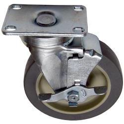 Allpoints Select - 262375 - 5 in Plate Caster w/ Brake image