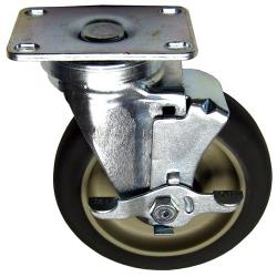 Allpoints Select - 262379 - 5 in Swivel Plate Caster w/ Brake image