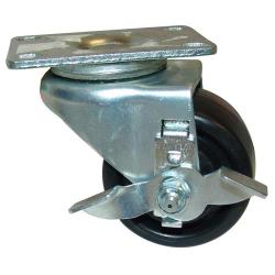 Allpoints Select - 263243 - 3 in Swivel Plate Caster w/ Brake image