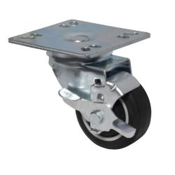 BK Resources - 3SBR-UP4-PLY-PS4 - 3 in Swivel Plate Caster Set image