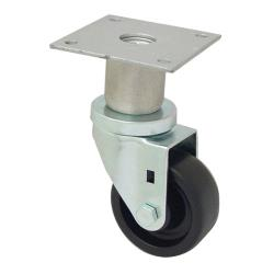 CHG - C47-0306-C - Swivel Plate Caster w/ 3 in Wheel image