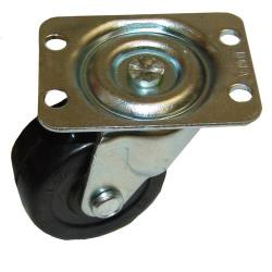"Commercial - 2"" Plate Mount Caster w/o Brake image"