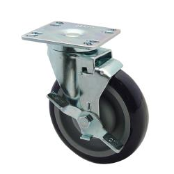 Krowne - 28-111S - Universal Swivel Plate Caster With 5 in Wheel image