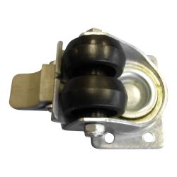 Metalfrio - C849017 - Dual Wheel Caster w/Brake - Rectangle Plate image