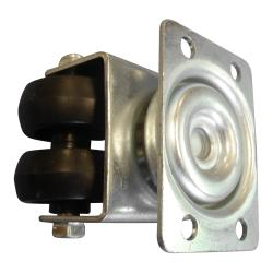 Metalfrio - C849018 - Dual Wheel Caster - Rectangle Plate image