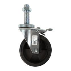 Garland - 4518094 - 5 in New Style Caster  w/Brake & Locknut image