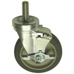 "Jade - 3020900000 - Threaded Stem Caster w/ 5"" Wheel & Break image"