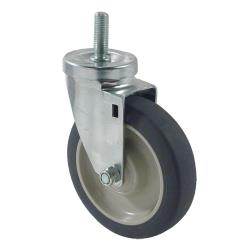Kason - 6C525022PPPG - 1/2 in Threaded Stem Caster with 5 in Wheel image