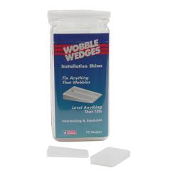 Wobble Wedge - 075 - 75 White Wobble Wedges image