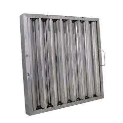 BK Resources - BKGF-1220-4SH - 20 in x 12 in Stainless Steel Hood Filter image