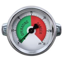 Allpoints Select - 621063 - 0 - 30 PSI Steam Pressure Gauge image