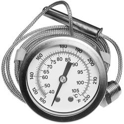Allpoints Select - 621091 - 100° - 220° Dishwasher Thermometer image