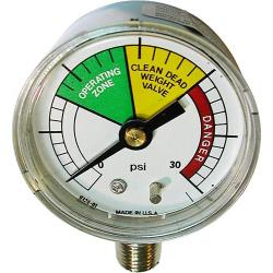 BK Industries - BKIG0136 - 0 - 30 PSI Pressure Gauge image
