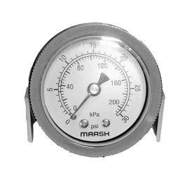 Commercial - 0-30 PSI Kettle/Steamer Pressure Gauge image