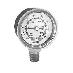 Commercial - 099156 - (-30) - 60 PSI Bottom Connection Pressure Gauge image