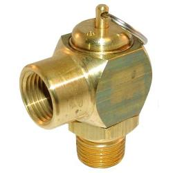 "Cleveland - KE54941-5 - 50 PSI 1/2"" Steam Safety Valve image"