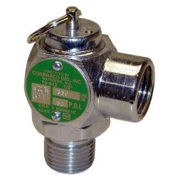"Groen - 097005 - 50 PSI 1/2"" Steam Safety Relief Valve image"