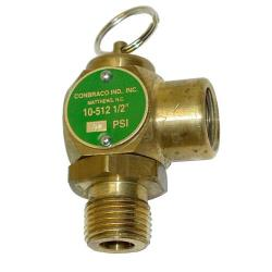 "Groen - 099228 - 12 PSI 1/2"" Steam Safety Relief Valve image"