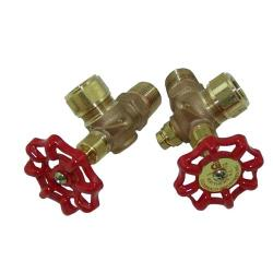 "Commercial - 1/2"" Gauge Valve Set image"